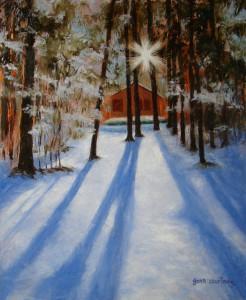 Sun, Snow and Long Shadows