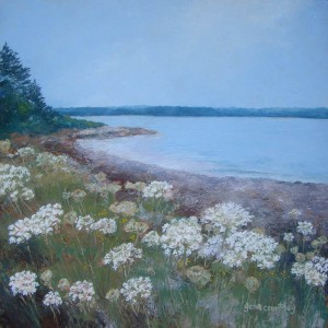 Queen Anne's Lace by the Seashore