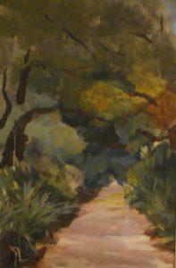 Grand Avenue, acrylic on canvas, 24 x 18
